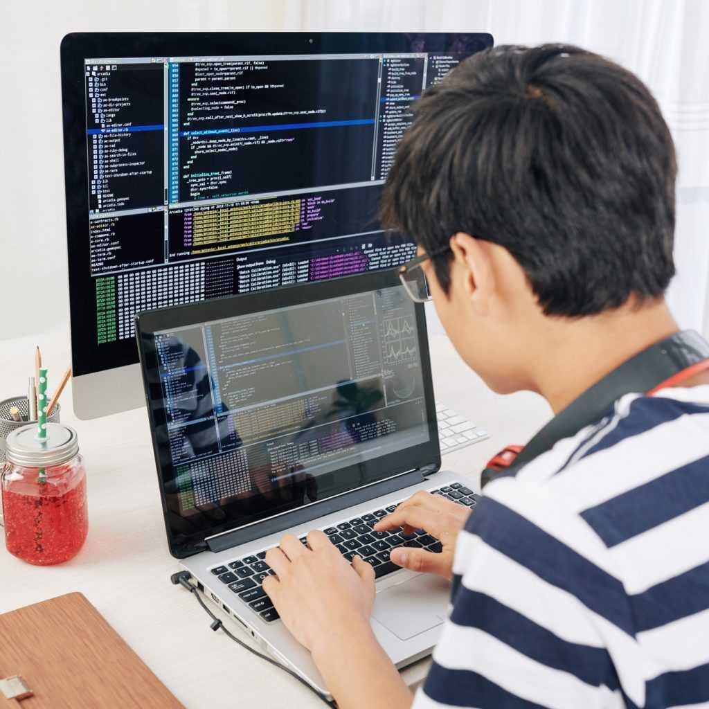 Programming teenager