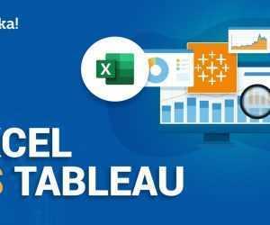 Excel versus Tableau |  Verschil tussen Excel en Tableau |  Tableau-training |  Edureka