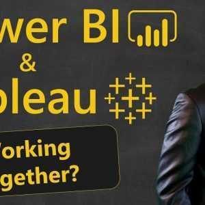 Power BI vs. Tableau: hoe u ze kunt laten samenwerken!