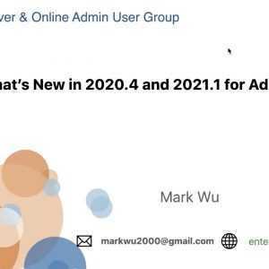 Gebruikersgroep Virtual Tableau Server Admins - 21 mei 2021