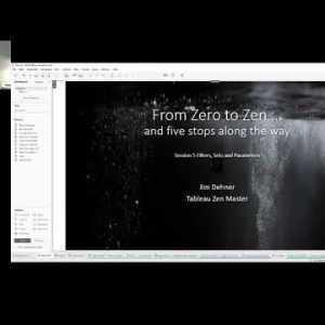 Nul tot zen - sessie 5 - filters, sets en parameters