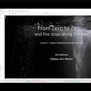 Nul tot zen - sessie 3 - eenvoudige berekeningen en datumfuncties