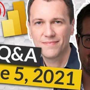 🔴 Tabular Editor 3 & Power BI Q&A - LIVE met Daniel Otykier & Marco Russo (5 juni 2021)